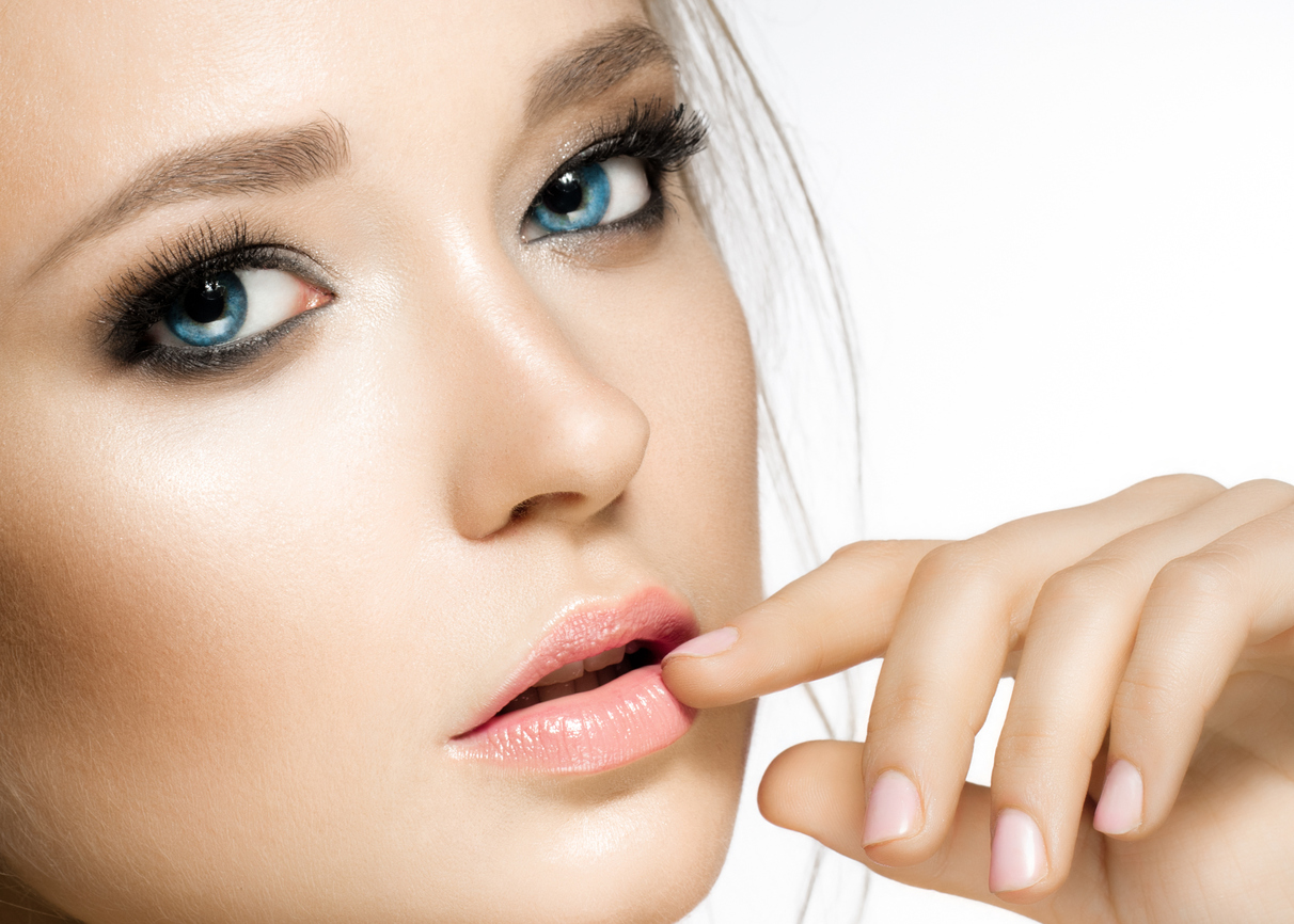 Young Model Eyelash Extensions Lash Out Beauty